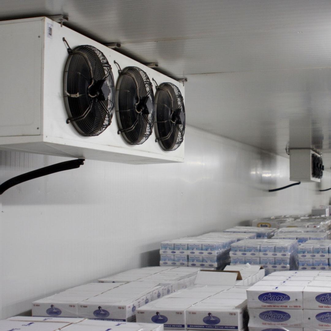 Soğuk Alanlar İçin Esnek Bariyer Sistemleri